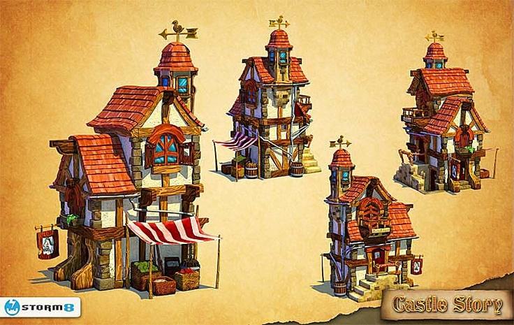 Pixologic ZBrush Gallery: Castle Story