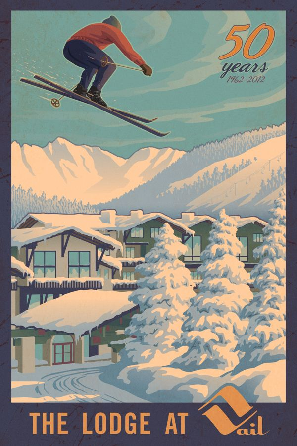 The Lodge at Vail by Mitch Frey, via Behance
