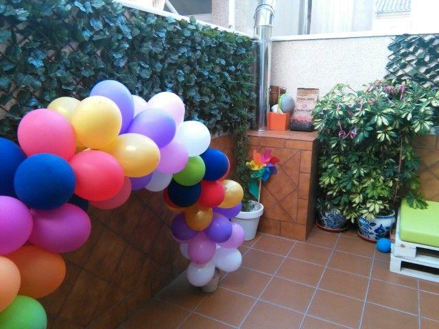 Arco pequeño globos