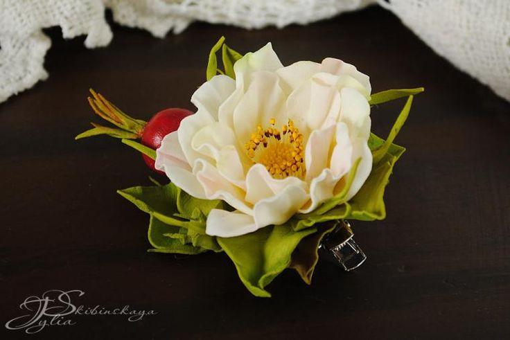 """МК по фоамирану """"Волшебные цветы - Шиповник"""" - Ярмарка Мастеров - ручная работа, handmade"""