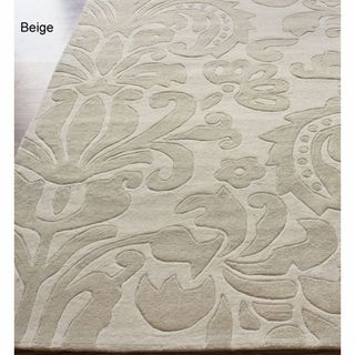 nuLOOM Handmade Pino Tribal Damask Rug (5' x 8')   Overstock.com Shopping - Great Deals on Nuloom 5x8 - 6x9 Rugs