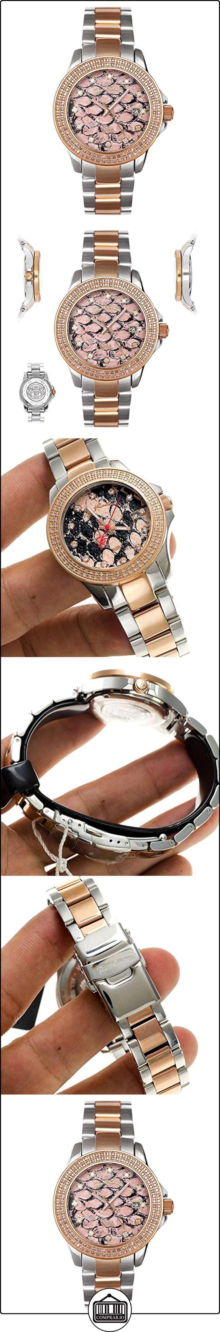 JOE RODEO Diamond Ladies Watch-zibra Rose Gold 1.25quilates de  ✿ Relojes para mujer - (Lujo) ✿