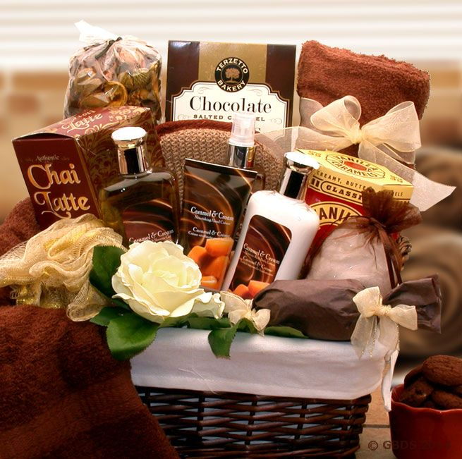 56 best free gift basket giveaway images on pinterest gift basket caramel indulgence spa gift basket enter to win this beautiful gift basket valued up negle Choice Image