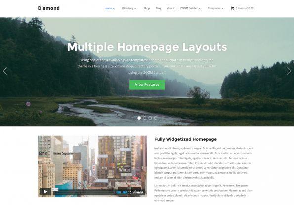 Diamond szablon Wordpress od WPZOOM - http://trejka.pl/diamond-szablon-wordpress-od-wpzoom/