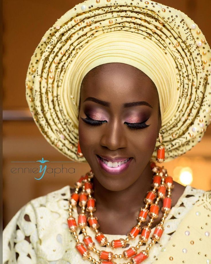 "6,713 Likes, 37 Comments - Africa's Top Wedding Website (@bellanaijaweddings) on Instagram: ""When the makeup works perfectly for you : @iam_tosin Makeup: @ennieyapha #BellaNaijaWeddings…"""