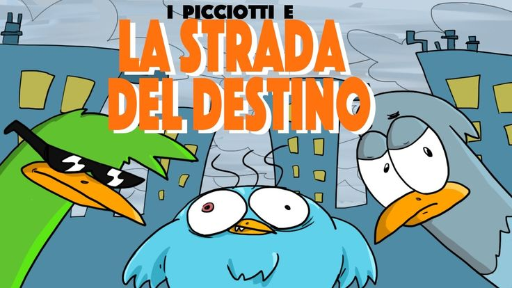 iPICCIOTTI e LA STRADA DEL DESTINO - doppiato da LUDO THORN • animazione...