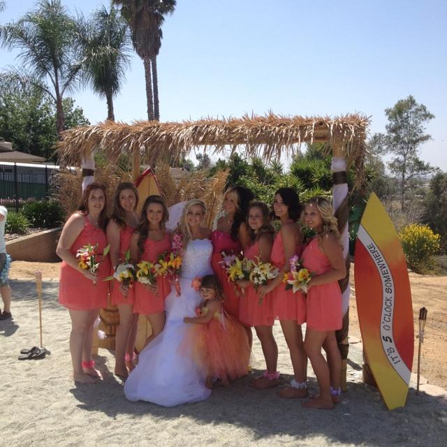 Hawaiian wedding :)