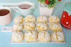 Limonlu Çatlak Kurabiye Tarifi   Kevserin Mutfağı - Yemek Tarifleri