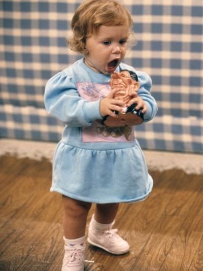 Mary-Kate Olsen As Michelle Tanner On Full House Season 1
