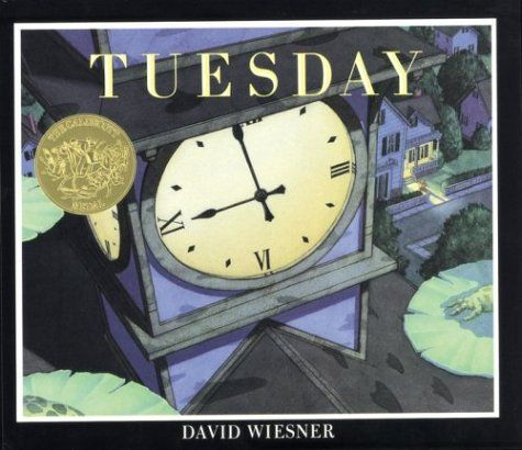 Tuesday by David Weisner. 1992 Winner