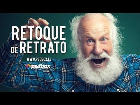 Retoque de Retrato Tutorial Photoshop en español - YouTube
