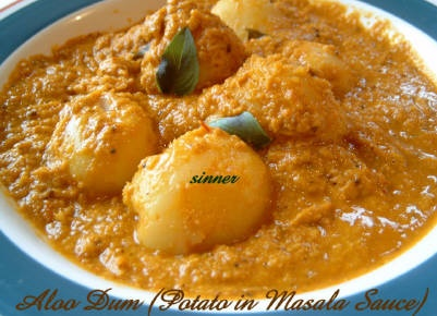 30 best bengali recipes images on pinterest cooking food aloo dum potato in masala sauce no cream at all forumfinder Images