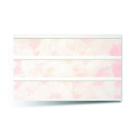 Вагонка ПВХ трехсекционная 242-розовый