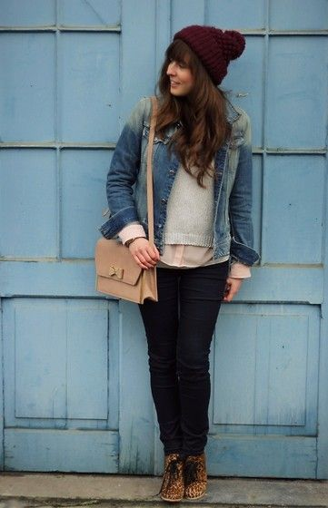 Shades of Blue (by Kim S.) http://lookbook.nu/look/4608305-Shades-of-Blue