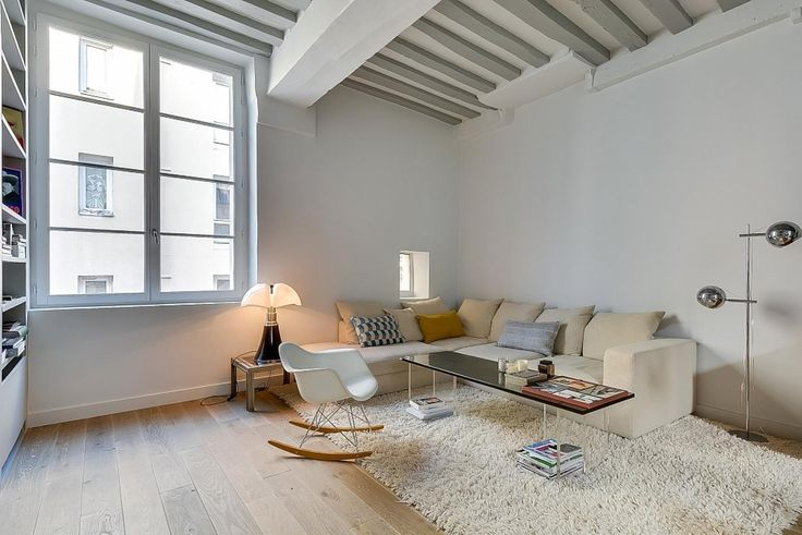 This Minimal And Modern Paris Apartment Is The Definition Of Cool Living. Eames alert.