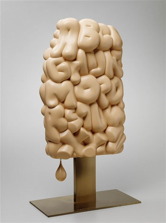 """Alphabet/Good Humor"" (1975), by Claes Oldenburg. Walker Art Center (Minneapolis)"