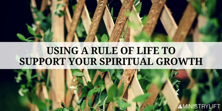 How to use a Rule of Life to support your spiritual growth.  #Scazzero #discipline #habit #strategy #grow #health #personalgrowthplan