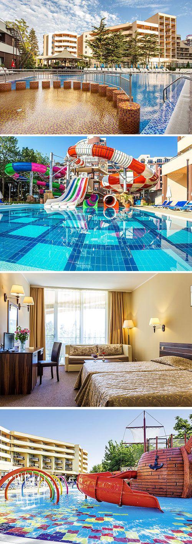 Laguna Park Hotel in het Bulgaarse Sunny Beach is een ideaal hotel voor een zonnige familievakantie. Het viersterren hotel beschikt over o.a. meerdere zwembaden met glijbanen, diverse sportmogelijkheden en gratis WiFi. En je hebt ook nog eens de mogelijkheid om te verblijven o.b.v. all inclusive. Laat die onbezorgde vakantie maar beginnen!