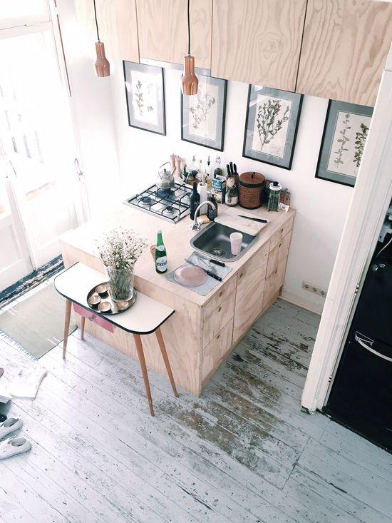 12 snygga inredningsidéer för små kök | ELLE Decoration
