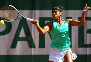 Blog Esportivo do Suíço:  Teliana Pereira joga bem, mas é eliminada por top 10 no Roland Garros