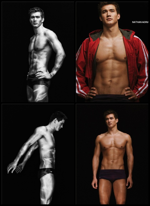 Nathan Adrian: yet another perk of being a swimmer