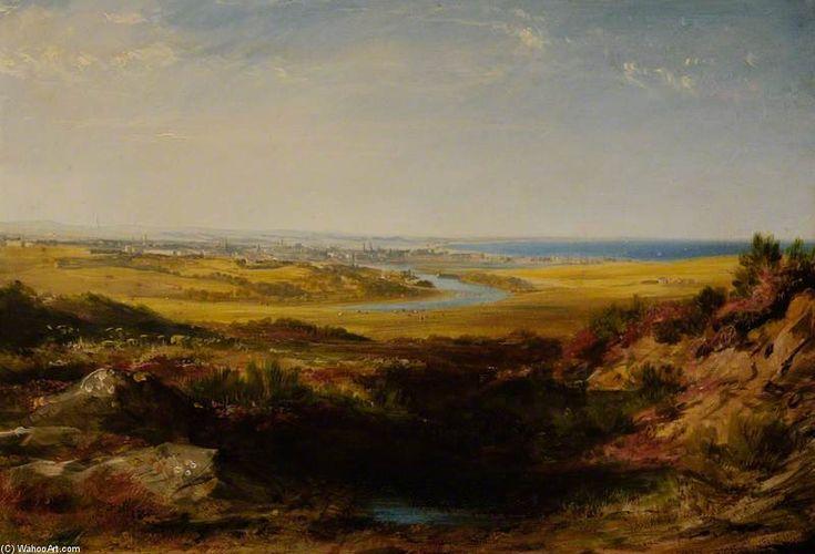 Paysage - (1) de James William Giles (1801-1870, United Kingdom)