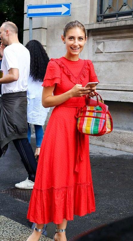 Om jag hittade en röd klänning
