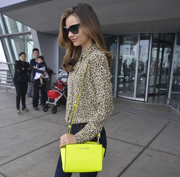 Street Style: Miranda Kerr. Michael Kors ...