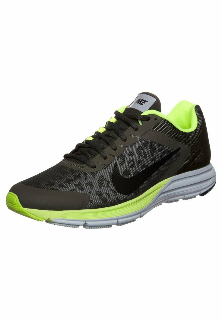Nike Performance - NIKE ZOOM STRUCTURE+ 17 - Demping hardloopschoenen - Olijf