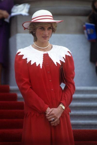 The Princess of Wales in Edmonton, Canada