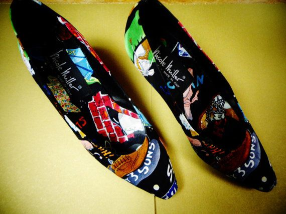 Vintage RARE Nicole Miller My 3 Sons Shoes Size 8 by RESTYLE576, $65.00