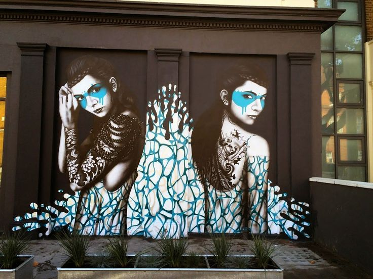 Fin Dac made this amazing work of art in West London (Maida Vale).