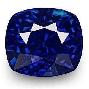 1.02-Carat Flawless Fiery Rich Royal Blue Sapphire from Kashmir