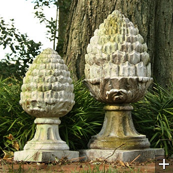 images about Finials on Pinterest Gardens Mantels and