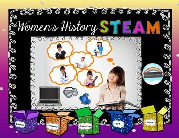 Women's History STEAM by Rainbow City Learning | TpT