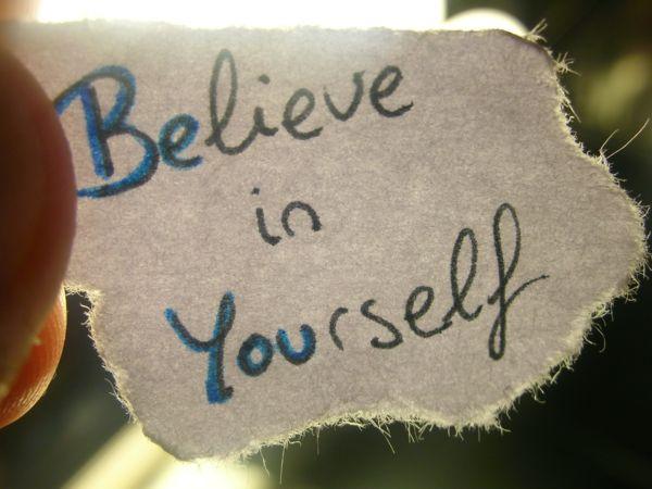 selbstbewusstsein trainieren an sich selbst glauben