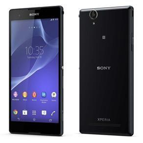 """Celular Desbloqueado Sony Xperia T2 Ultra Dual Preto com Dual Chip, Tela de 6"""", Câmera 13MP, Processador Quad-core de 1.4 GHz, Android 4.3, 3G e NFC"""