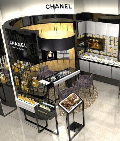 chanel cosmetic display - Google zoeken