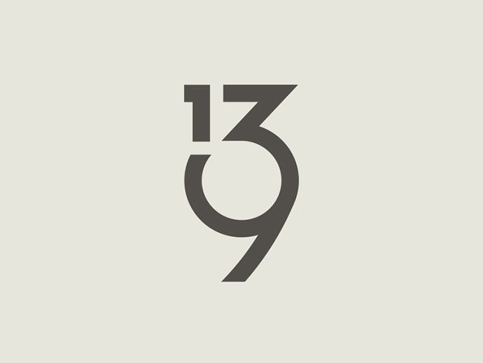 58 Beautiful Numerical Typography Designs