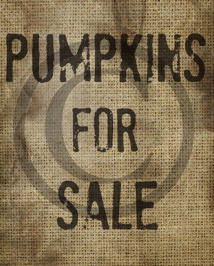 Primitive Pumpkin Pumpkins For Sale Burlap Feedsack Seed Packet  Pantry Logo Jar Crock Crate book Label Jpeg Digital File by Starrmtnprims on Etsy https://www.etsy.com/listing/196194532/primitive-pumpkin-pumpkins-for-sale