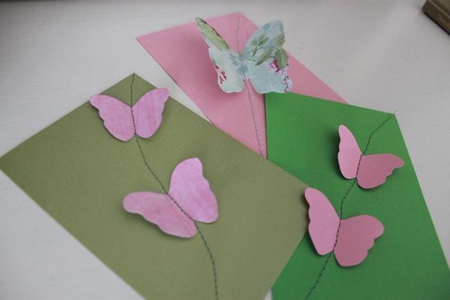 kortit ompelemalla
