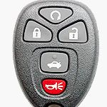 Keyless Entry Remote Fob Clicker for 2007 Chevrolet Impala – (Must be programmed by Chevrolet dealer)