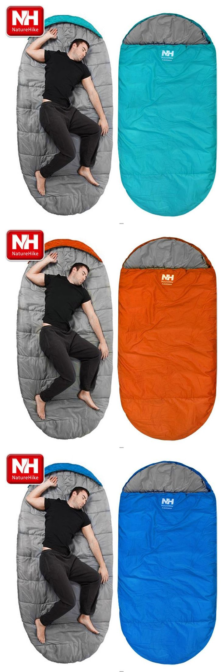 [Visit to Buy] Naturehike Free Shipping Sleeping Bag Outdoor Sleeping bag Camping Sleeping Bag NH80S002-D #Advertisement
