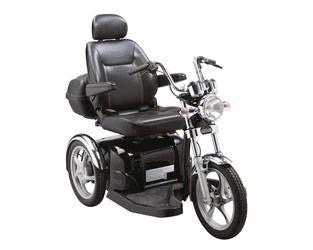 #scootmobiel Sport Rider 18 km/h Luxe captain stoel. Veel beenruimte.