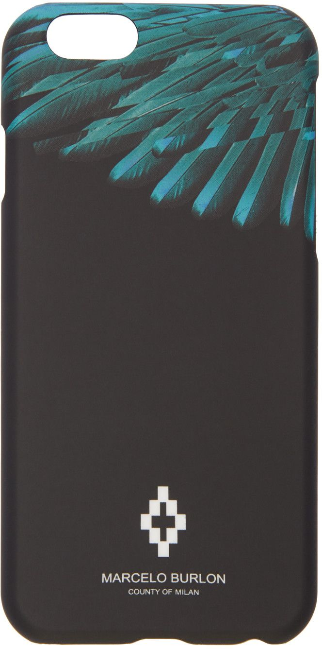 Marcelo Burlon County of Milan - Black Rigel iPhone 6 Case