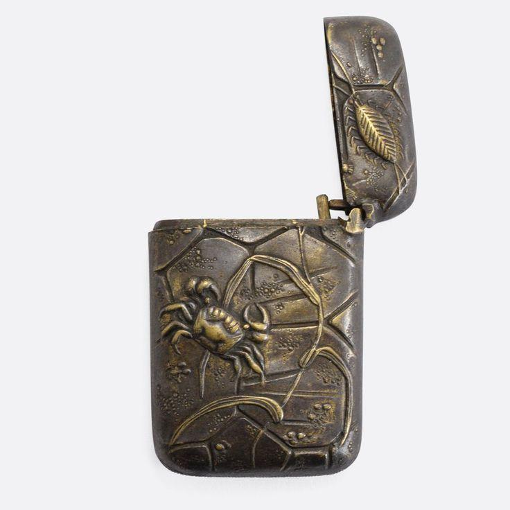Japanese Meiji Mokume-gane Vesta Case                      – Butter Lane Antiques