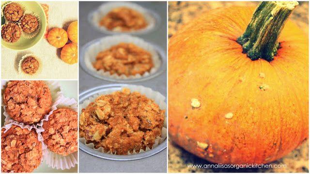 Gluten-free pumpkin and spice muffins