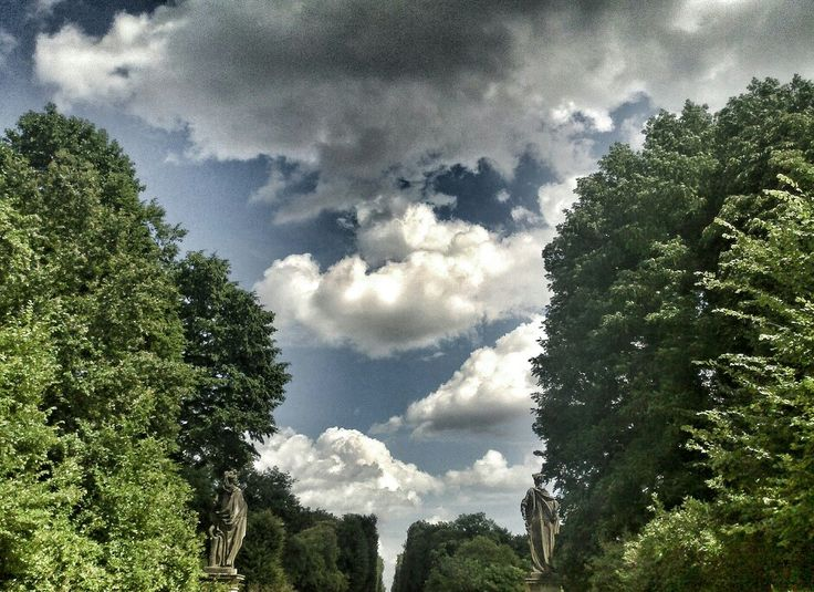 #Potsdam #Schloss #Rain #clouds #beautiful #germany #Berlin