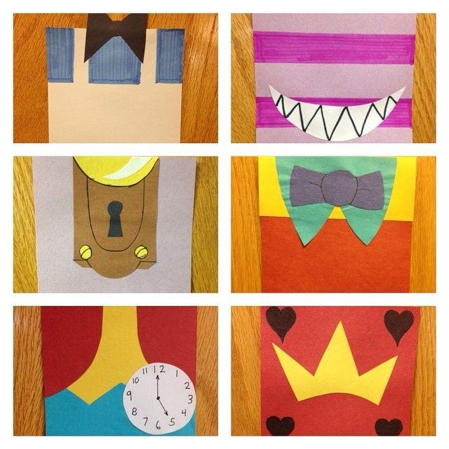 simplified Alice in Wonderland themed door decs! #RA | RA ...