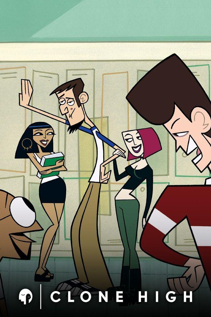 clone high Cartoons series, Cartoon shows, Cartoon